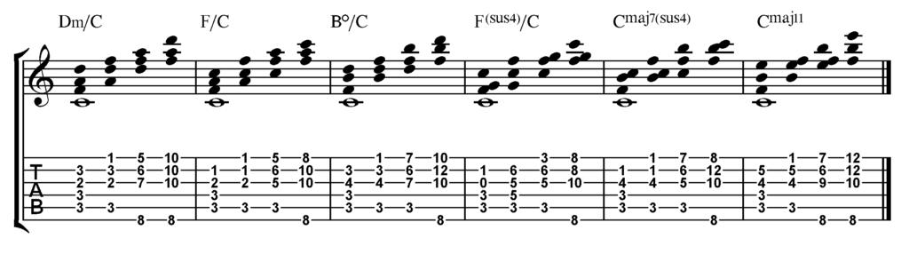 Ionico-armonizzazione